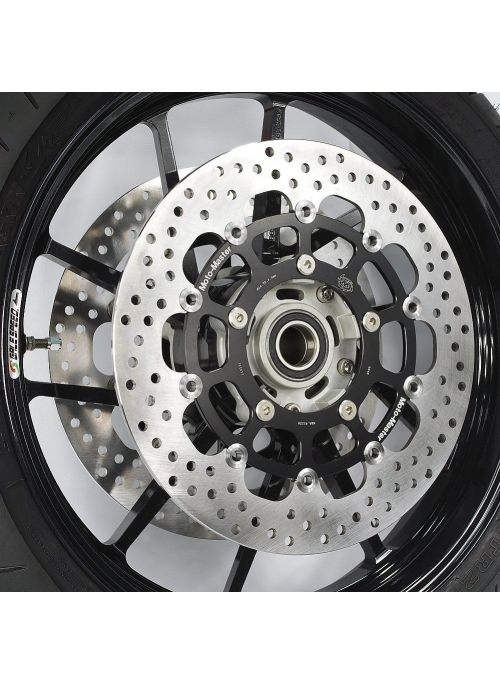 MotoMaster Halo remschijf links RSV 1000 4 / R / Factory / ABS 2010-2013