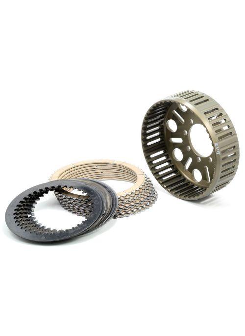 EVR 48-tands koppelingset - korf, gesinterde platen en stalen platen - voor Ducati modellen met slipper clutch (dikte 36,5mm)