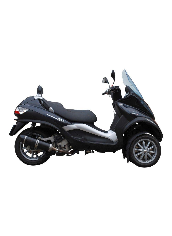 Gg Uitlaat Voor Piaggio Mp3 400