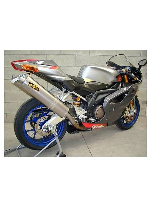 G&G exhaust set Aprilia RSV 1000 2004-2005