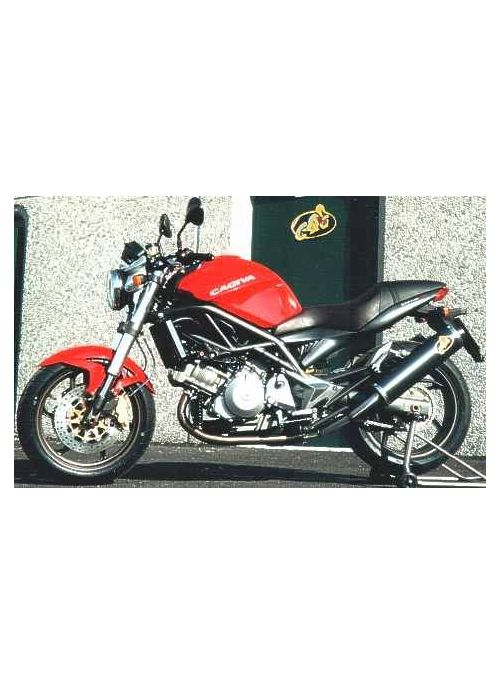 G&G Oval exhaust kit Cagiva Raptor 1000