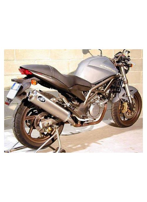 G&G Oval exhaust kit Cagiva Raptor 650