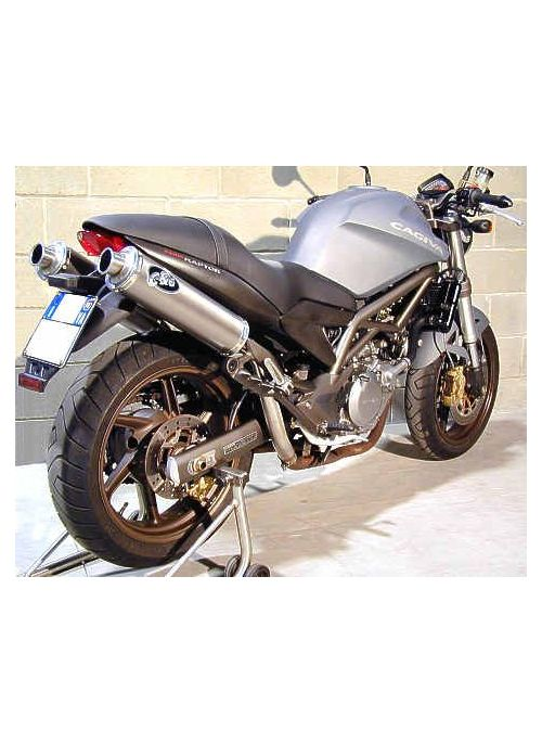 G&G Highmount uitlaat demperset Cagiva Raptor 650