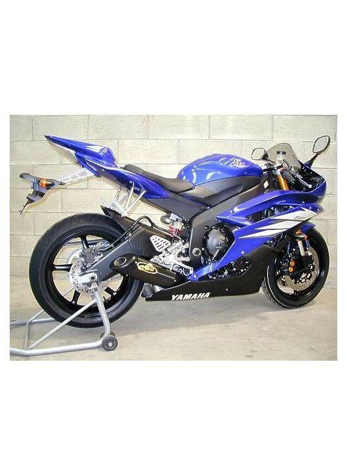 G&G Oval uitlaat Yamaha R6 2006-2007 / 2008-2016
