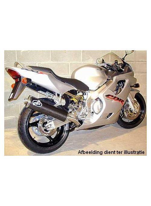 G&G Oval uitlaat Honda CBR600F 1991-1997