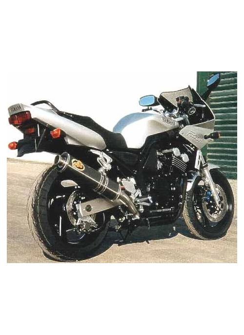 G&G Oval uitlaat Yamaha FZS600 1998-2003