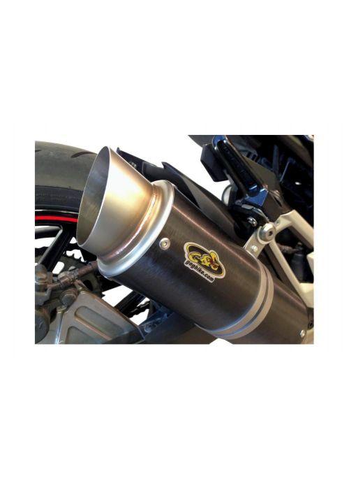 G&G Moto2 exhaust Kawasaki Z800