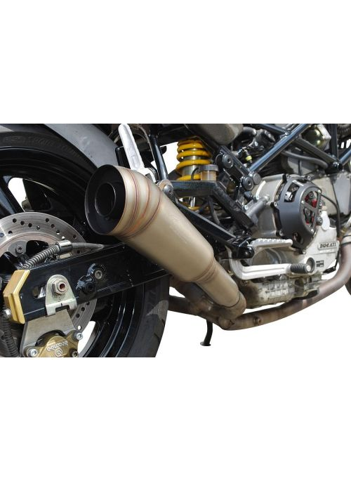 G&G GP uitlaten Ducati Monster 620