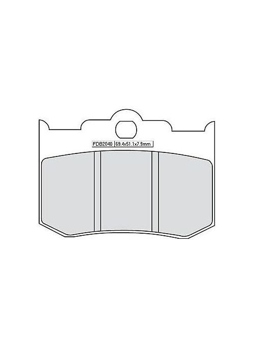 FERODO remblokset FDB 2040 P (organisch)