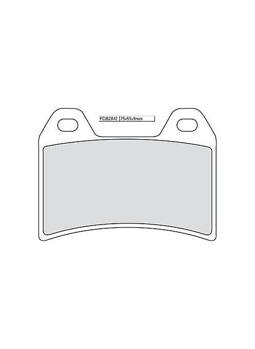 Ferodo remblokset FDB 2042 CP1 (Racing Organic)