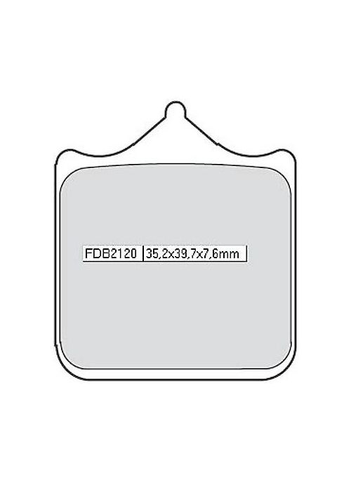 Ferodo Sinter Racing remblokset FDB 2120 XRAC