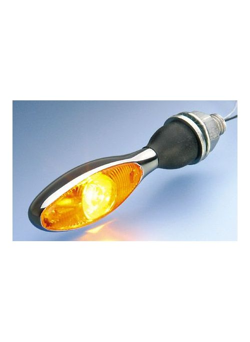 Kellermann knipperlicht Micro 1000 LED - chroom, gele lens