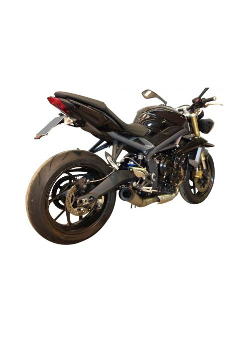 G&G GP exhaust Triumph Street Triple 675 2013-2015