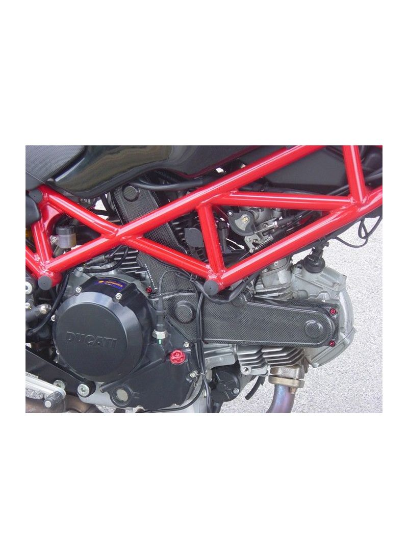 carbon timing belt covers monster 620 695 800i