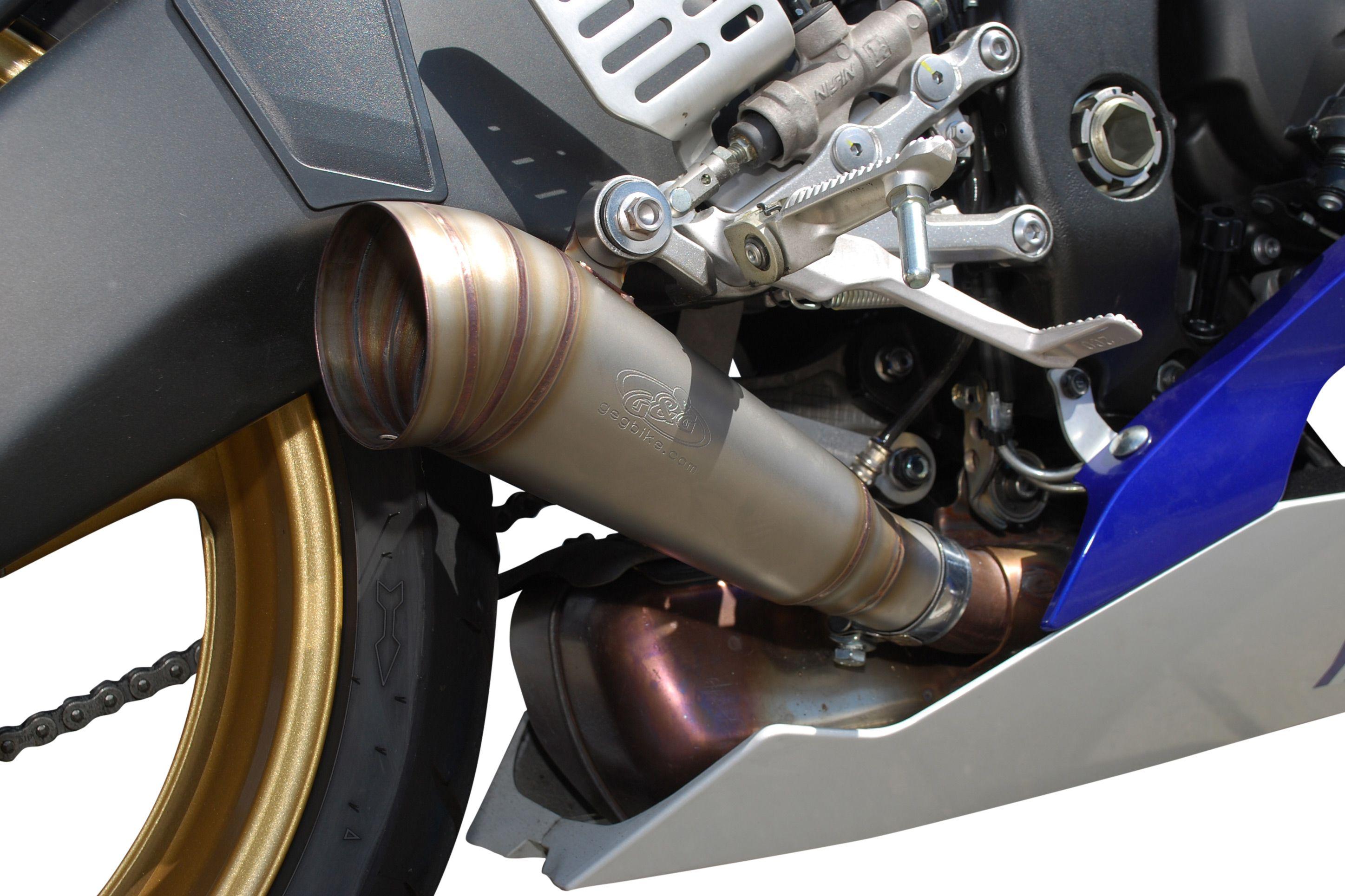 G&G GP uitlaat Yamaha R6 2006-2016