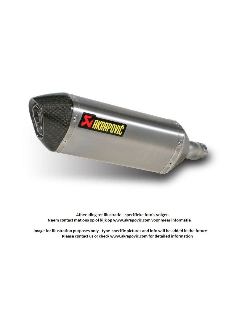 Akrapovic Titanium exhaust slip-on line Hexagonal Streetfighter/S 09-2013 homologated