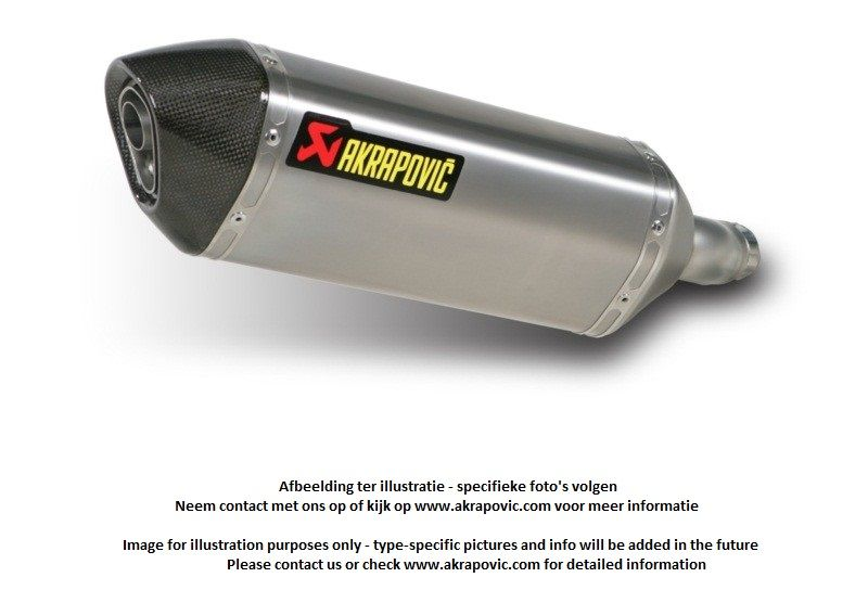 Akrapovic Titanium exhaust slip-on line Hexagonal Streetfighter/S 09-2013  homologated - G&G Shop