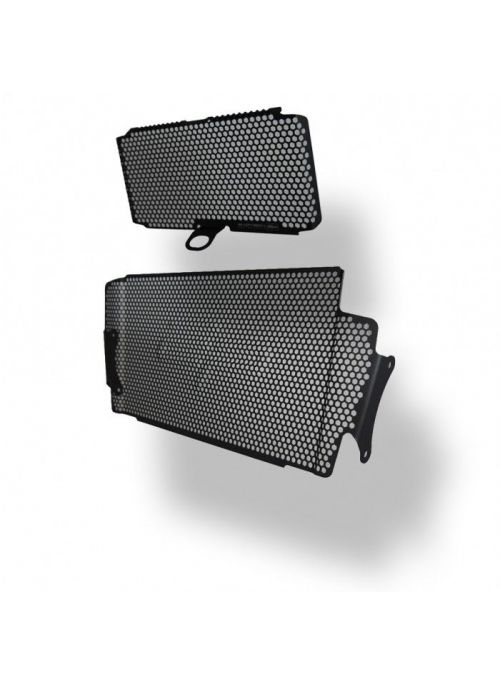 Ducati Multistrada 1200 Radiator Oil Cooler Guard Set 2015-