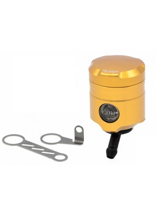 CNC Racing brake fluid reservoir gold - 45 degree