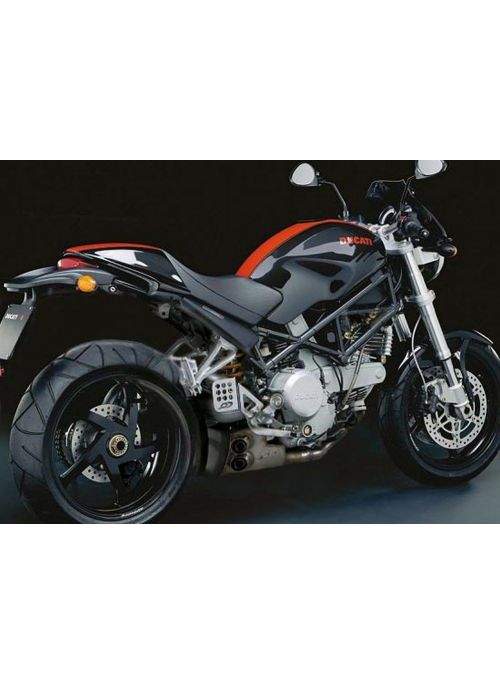 QD ExBox uitlaat Ducati Monster S2R 800