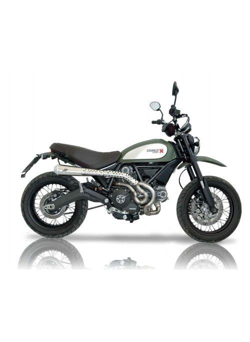 QD uitlaatsysteem Ducati Scrambler