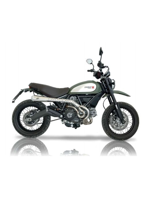 QD Exhaust system Ducati Scrambler