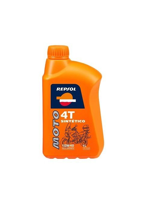 Repsol 4T olie Moto Sintetico 10W40- olie vol synthetisch - 1L