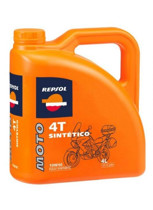 Repsol 4T olie Moto Sintetico 10W40- olie vol synthetisch - 4L