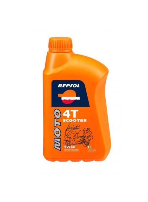 Repsol 4T oil Moto Scooter 5W40 - 1L