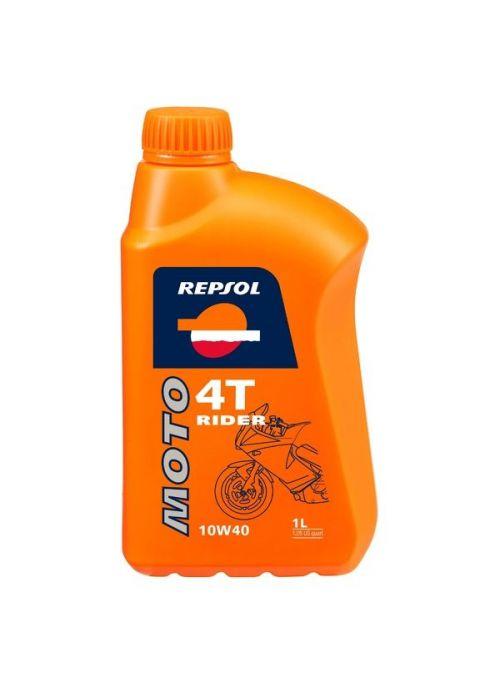 Repsol 4T olie Moto Rider 15W50- olie half synthetisch - 1L