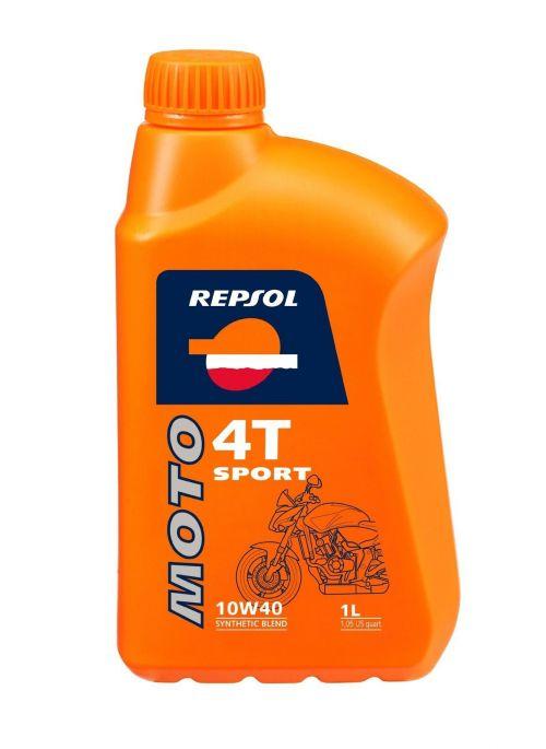 Repsol 4T olie Moto Rider 10W40 - olie half synthetisch - 1L