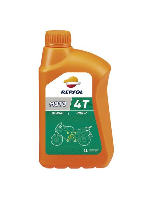Repsol 4T olie Moto Rider 20W50- olie mineraal - 1L