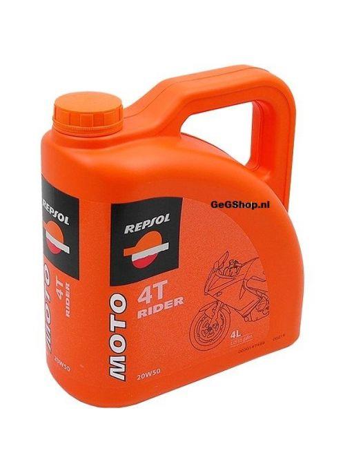 Repsol 4T Moto Rider 20W50 - olie mineraal - 4L