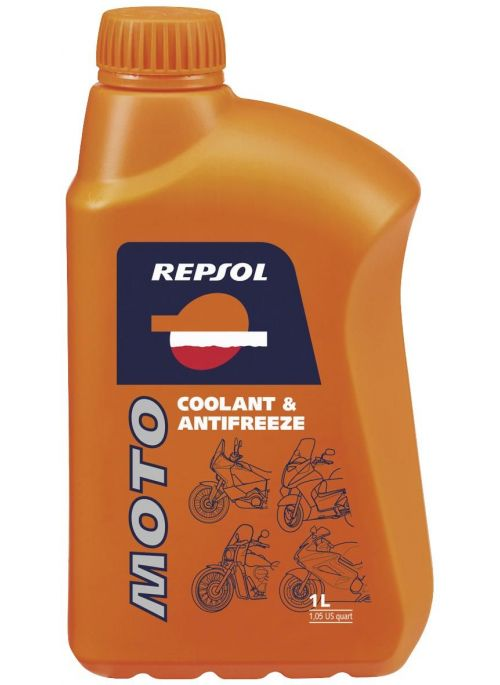 Repsol Moto Coolant anti-freeze 1L