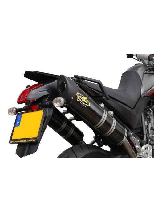 G&G Oval uitlaat Yamaha XT660