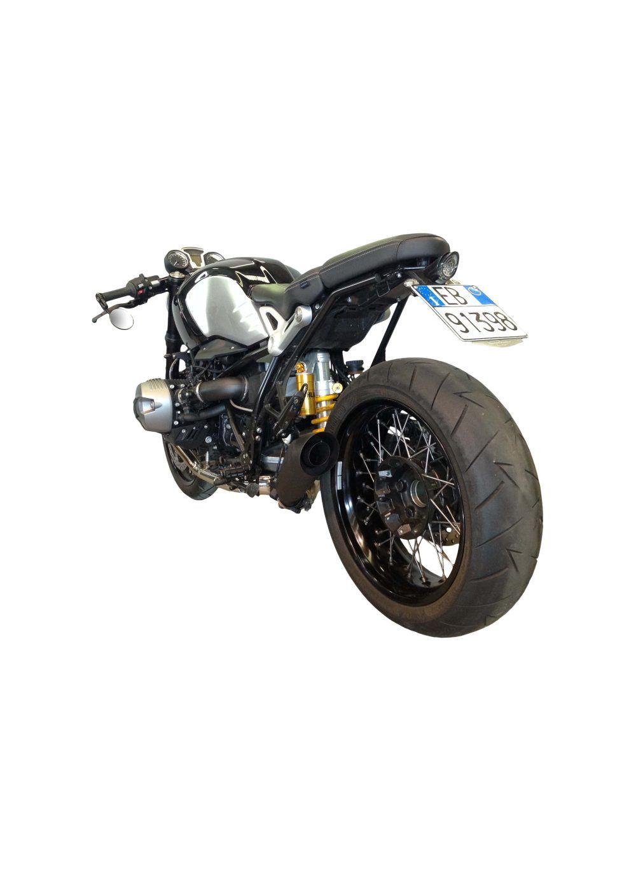 G&G GP Black exhaust BMW R NineT Pure - G&G Shop