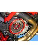 Ducabike koppelingsdeksel CCDV01 - zwart rood goud zilver