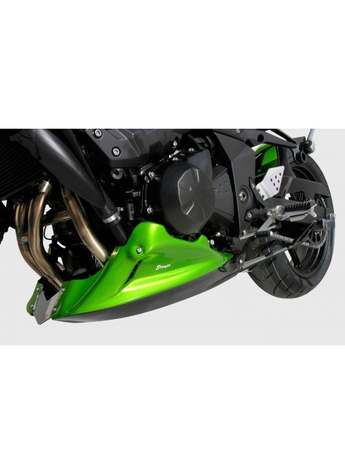 Ermax bellypan (engine spoiler) 3-part Kawasaki Z750 2007-2013