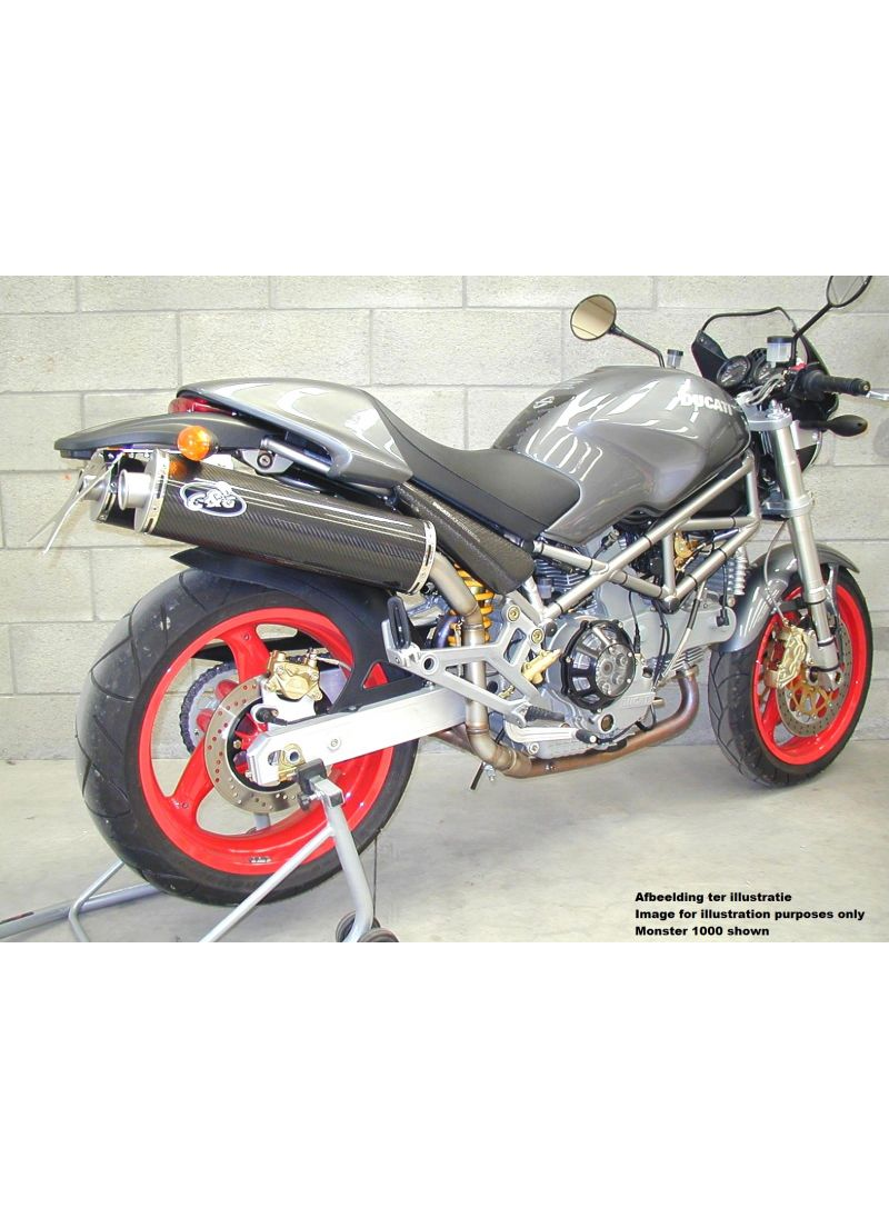 Gg Highmount Demperset Monster 600 750 En 900 Met Carburateurs