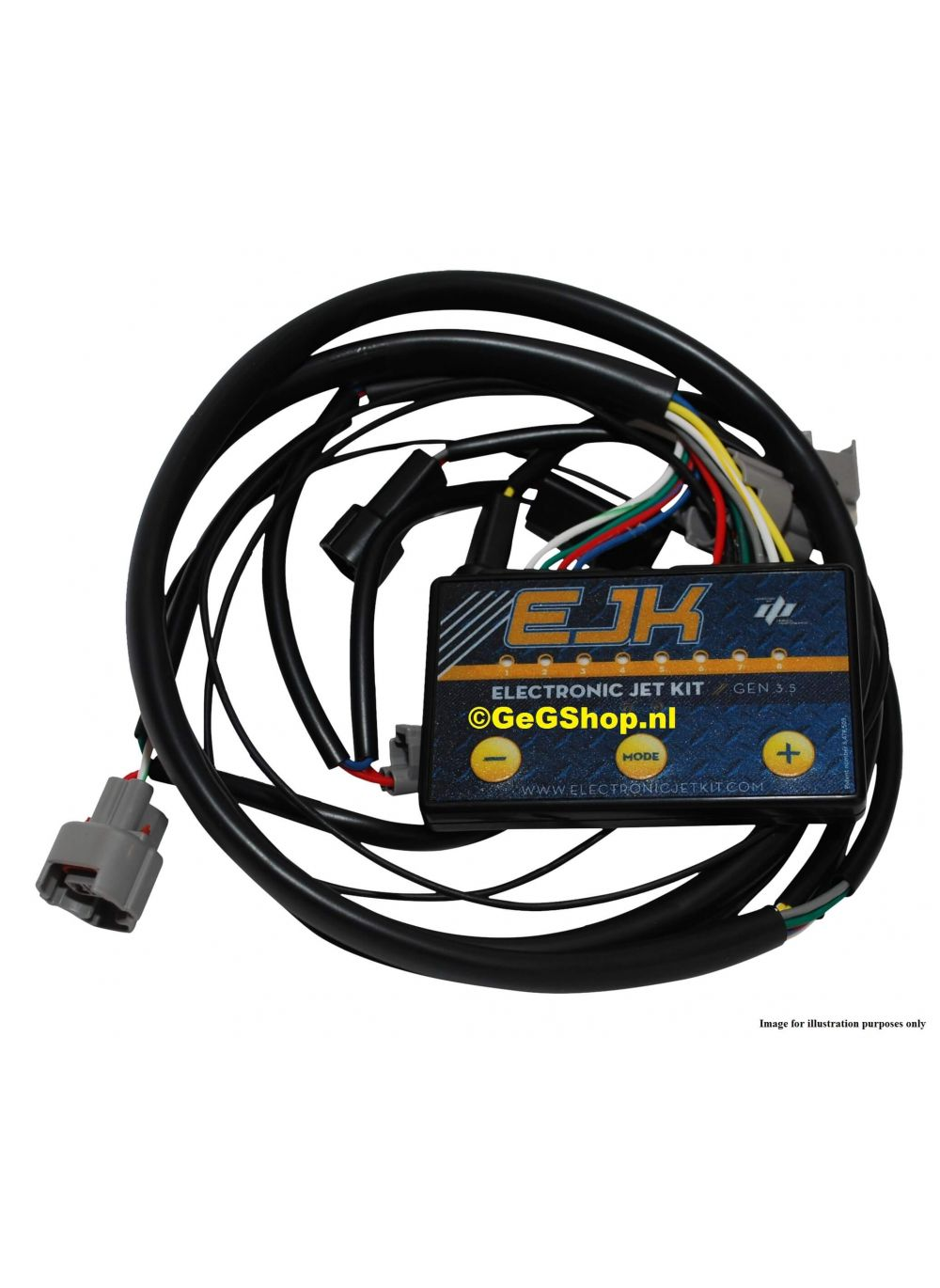 Ejk Electronic Jet Kit Gen 35 Tune Module For Kawasaki Er6f 2006 Er 6f Wiring Harness 2011
