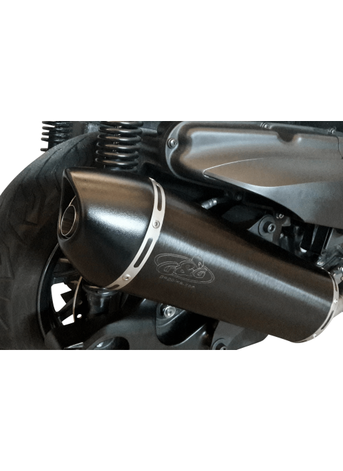 G&G uitlaat Yamaha X-Max 400 2013-