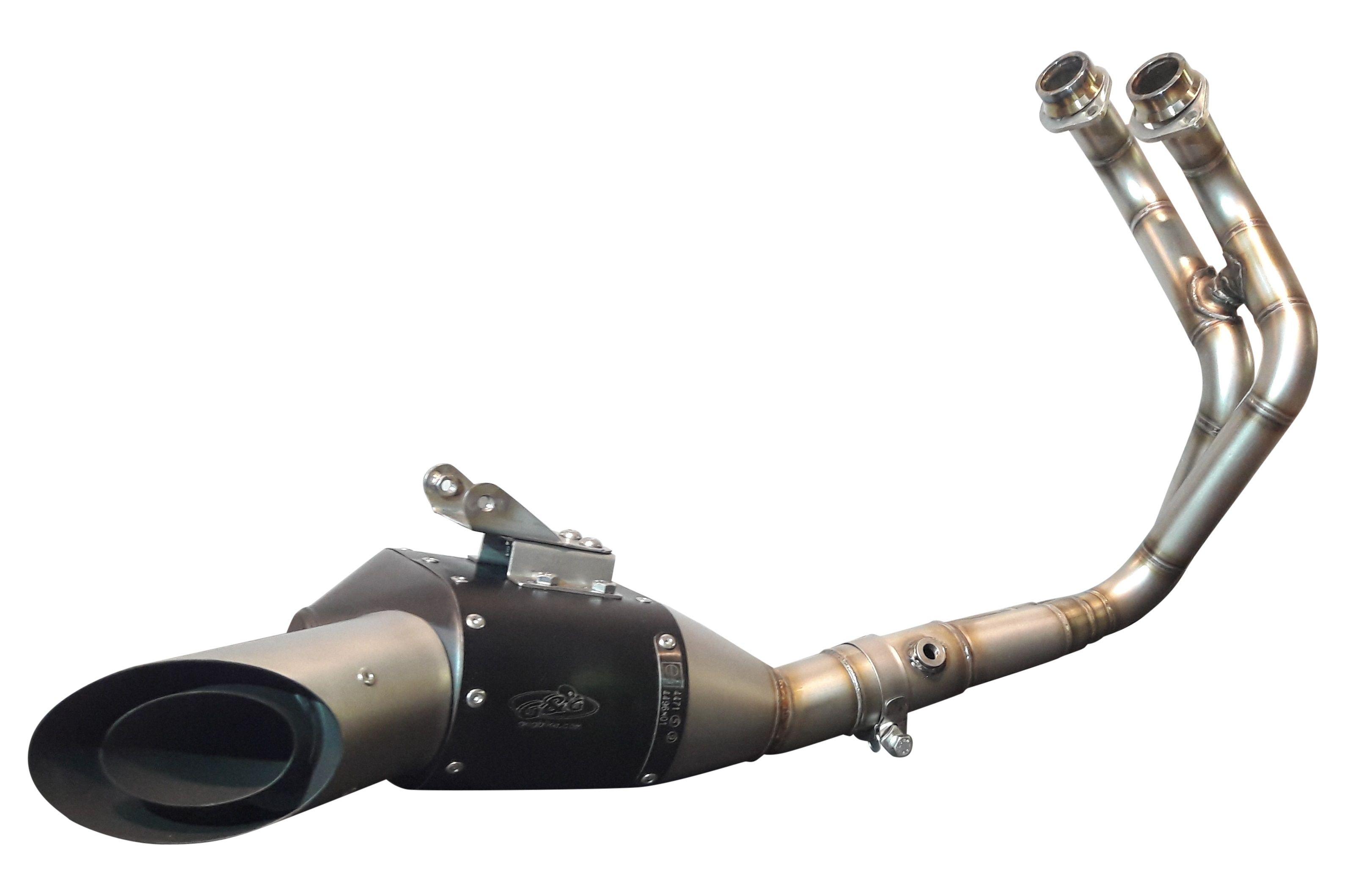 G&G GP Stealth exhaust system Yamaha MT-07 - G&G Shop