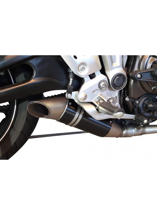 G&G GP exhaust system Yamaha Tracer 700