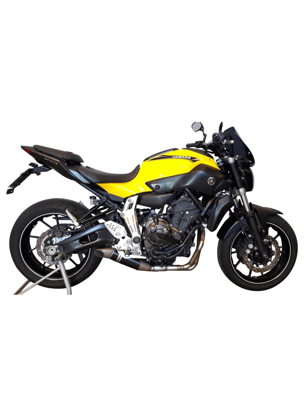 G g gp exhaust system yamaha xsr700 g g shop for Yamaha exhaust systems