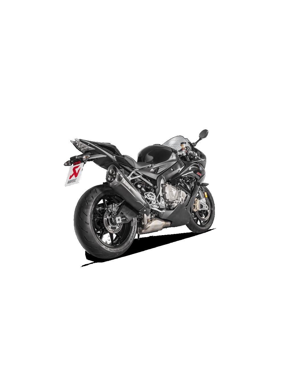 Akrapovic Slip On Exhaust Black Titanium Bmw S1000rr 2017 On G G Shop