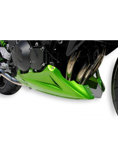 Ermax bellypan (engine spoiler) 3-part Kawasaki Z750R 2011-2012