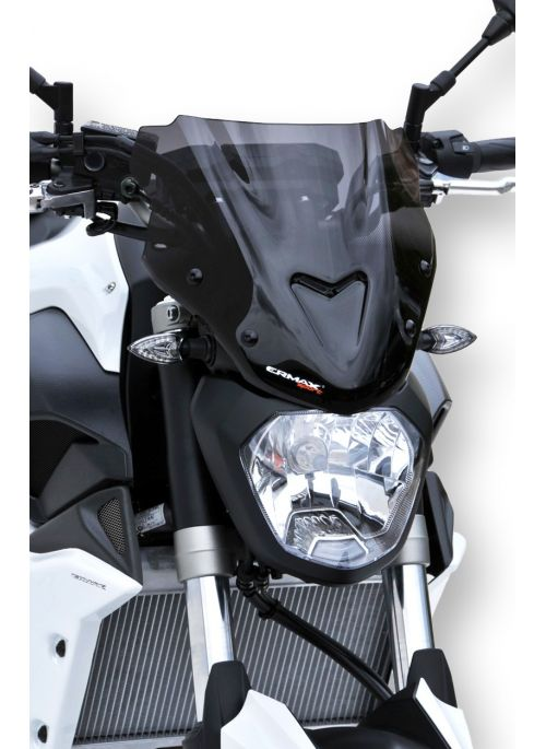 Ermax flyscreen windshield Sport 27cm MT-07 2014-2017 (incl. installation kit)