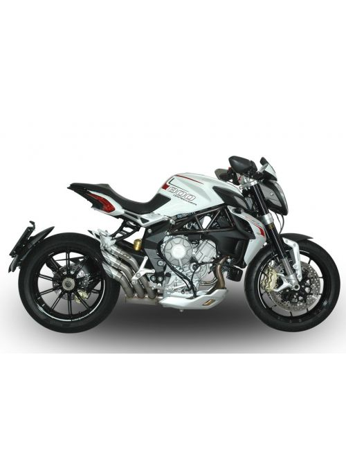 QD Top Gun slip-on uitlaat MV Agusta 675 800