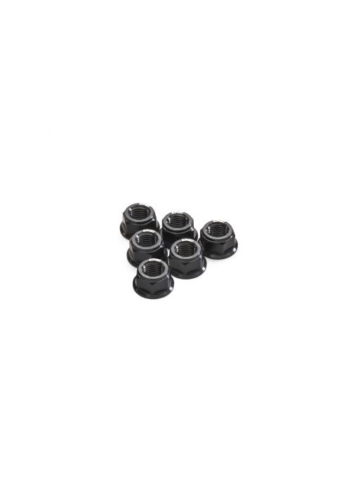 Rear axle nut set