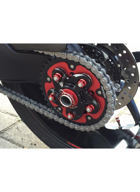 Ducati Desmosedici RR Titanium Rear Sprocket Nut Kit